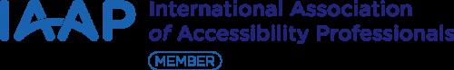 International Association of Accessibility Professionals (I.A.A.P.) Member