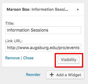 widget-visibility