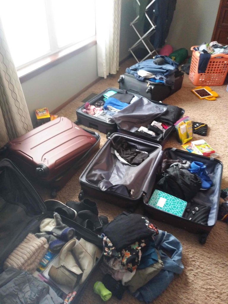 Packing for Finland.